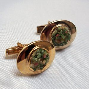 Unique & Colorful Vintage Cuff Links